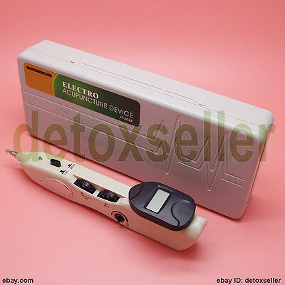 Updated electro-acupuncture device acupuncture & moxibustion pen massage pointer