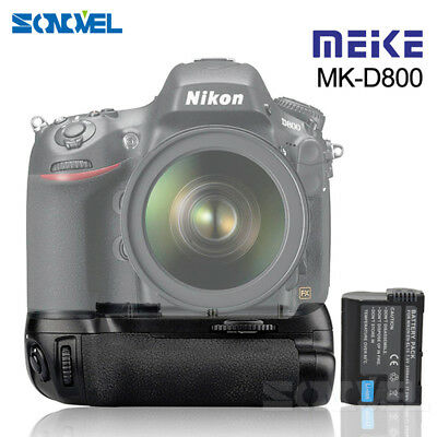 Meike MK-D800 Battery Grip for Nikon D810 D800 D800E Camera as MB-D12+ EN-EL15