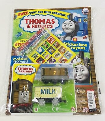 Thomas & Friends Magazine #737 - Double Gift Issue! (New)