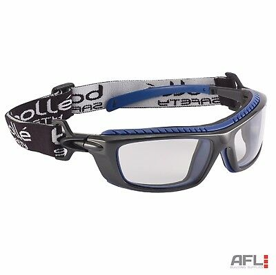 Bolle Baxter BAXPSI Anti Fog Anti Scratch Clear Lens Safety Goggles Glasses