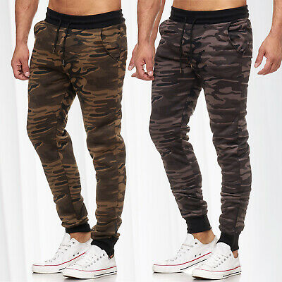 Herren Jogginghose Training Sporthose Sweat Pant Camouflage Gym Hose Tarn Muster Clothing, Shoes & Accessories Pants