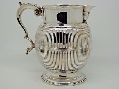 Antique Georgian Silver Beer jug London 1782 – Hester Bateman SUPERB RARE LARGE