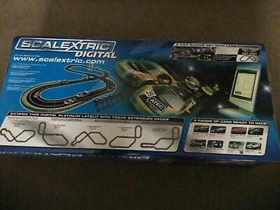 Scalextric Digital Platinum with many extras. hardly used. was just a project