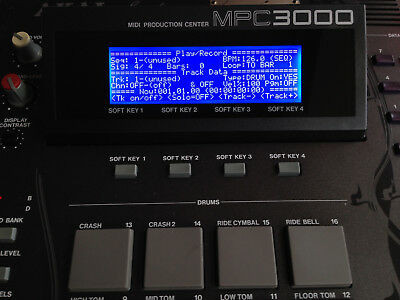Akai MPC3000 and MPC60mkII LED SCREEN LCD display NEW!!! LAST two LEFT