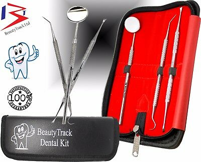 Tartar Calculus Remover Pro Dental Tartar Scratch Dentist Mirror Tooth Scraper 3