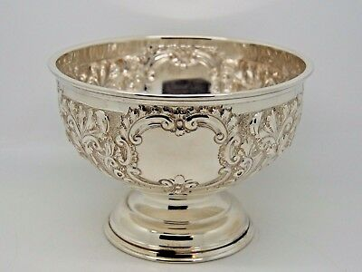 Antique Victorian Silver Bowl ROSE/PUNCH London 1900 – W & C Sissons