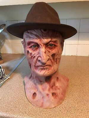 Freddy krueger Mask / Bust Hat Rubber prototype first pull Jason