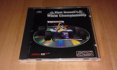 Nigel Mansell's World Championship Amiga CD32 Game Fully Tested VGC Commodore