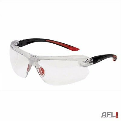 Bolle IRI-s IRIDPSI3 Platinum Clear Bifocal Reading Area +3 Safety Glasses