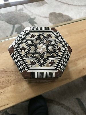 Mother Of Pearl Box