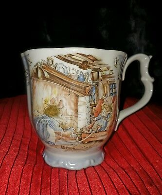 BRAMBLY HEDGE.WINTER BEAKER.ROYAL DOULTON.Gift Collection - 1983.