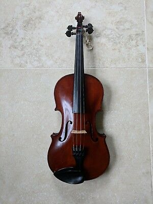 Old 4/4 German Murdoch Violin, Set up & Ready to play in brand new EMJ case
