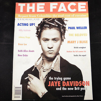 The Face Magazine Volume 2 Number 58, July 1993 - Jaye Davidson