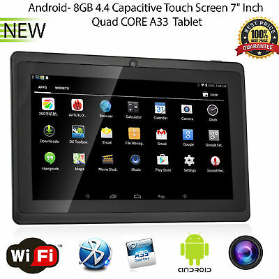 Hot MID Tablet PC 7 inch Dual Camera Wifi Bluetooth Android 4.4 Dual Core 8GB