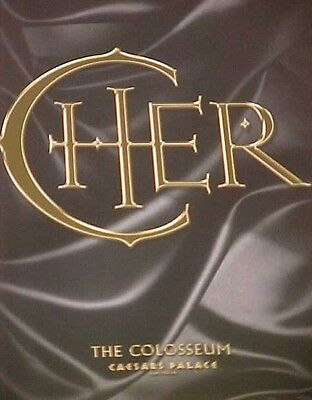 "Cher ""Caesars Palace"" The Colosseum Las Vegas Program Excellent Cond. ~Vol 1~"