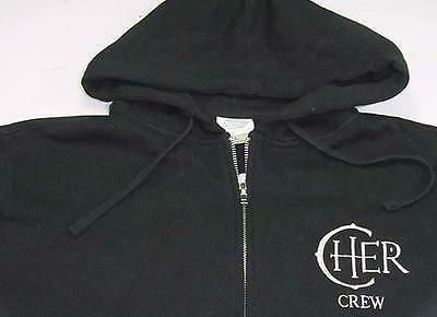 "Cher Crew The Colosseum ""Caesars Palace"" Las Vegas Zippered Hoodie 100th Show XL"