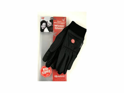 LADIES MASTERS GOLF - A pair of Gore Windstopper Winter Gloves - BLACK