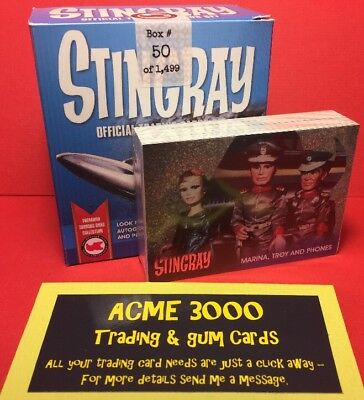Unstoppable Gerry Anderson Collection - STINGRAY Set & Silver Foil in Opened Box