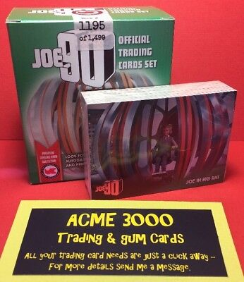 Unstoppable Gerry Anderson Collection - JOE90 Set & Silver Foil in Opened Box