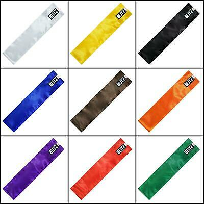 Blitz Silk Smooth KUNG FU Sash - All colours and Sizes