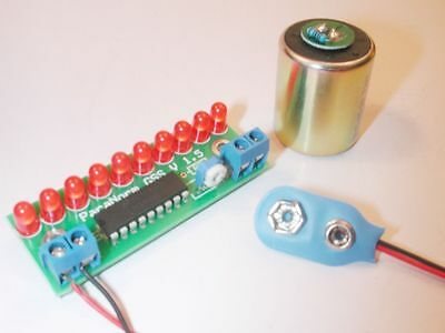 Geophone Seismic Sensor Kit Sensor Included, Assemble Your Own! Ghost Paranormal