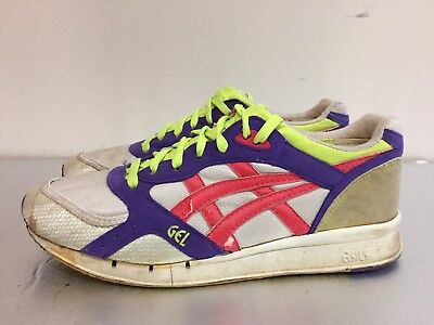 MENS VINTAGE 80S 90s Retro ASICS Gel Lyte Size 9.5 Shoes
