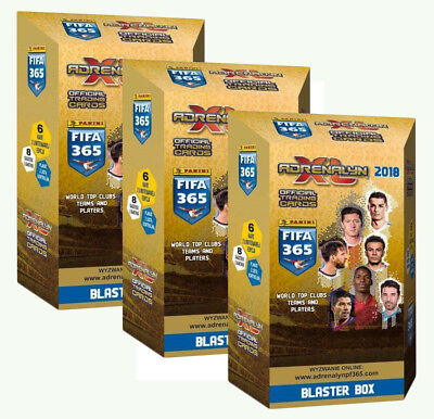 Fifa 365 2018 blaster box limited edition 6 new limited Adrenalyn XL