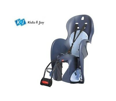 Child Seat Bicycle Seat Wallaroo Blue Light Blue for Kids