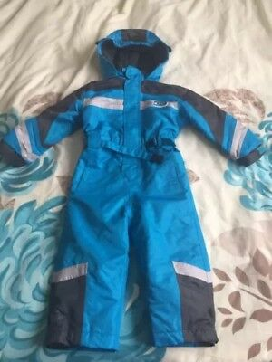 Age 18-24 Months Blue Snowsuit. Or Thick Puddle Suit.