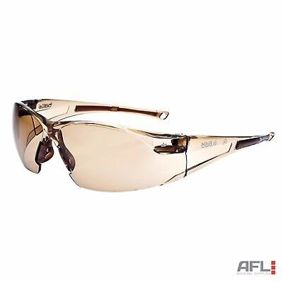 Bolle Rush RUSHTWI Anti-Fog Anti-Scratch Panoramic Twilight Lens Safety Glasses