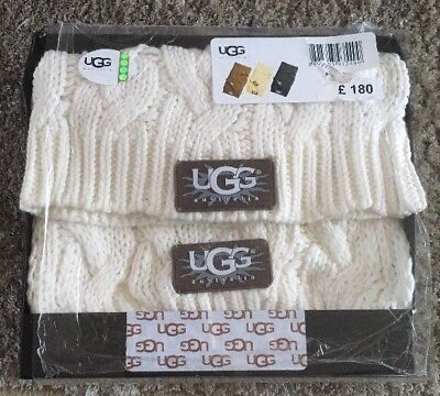 UGG Hat and Scarf Gift Set in Box BNWOT But Unused And In Wrapping