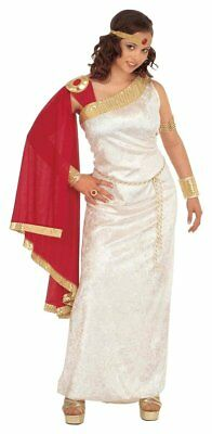 Ladies Lucilla Costume Double Extra Large UK 20+ for Toga Party Rome Sparticus