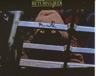 Brian Wheeler photo signed In Person - Star Wars - D378