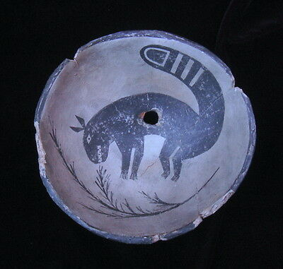 Anasazi Mimbres Kudamundi Bowl Replication