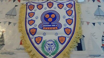 Shrewsbury Town Fc - Large Football Pennant-Made By Coffer Sports