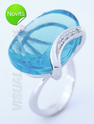 Comets Gold Ring Stone Itineries Blue