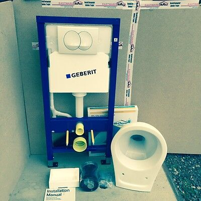 Geberit Duofix Front-wall Element WC wall Set Complete Set with/without Slot