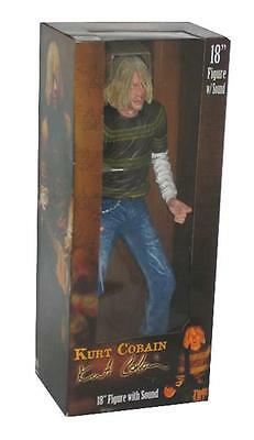"Nirvana Kurt Cobain 18"" Figure With Sound Neca 2007"
