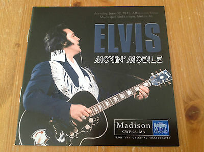 Elvis Presley cd - Movin' Mobile - MEGA! MEGA! RARE! Madison label
