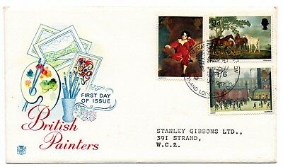 GB 1967 Paintings FDC Art on Stamps Exhibition special handstamp VGC Typed add.