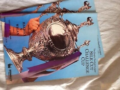 6 Silk Cut Challenge Rugby Programs 1985 To 1989