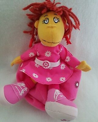Tweenies fizz doll new soft toy small detachable bean bag