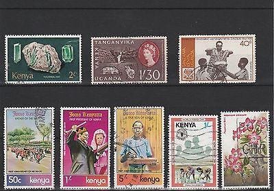 Kut Assortment Of Used Stamps