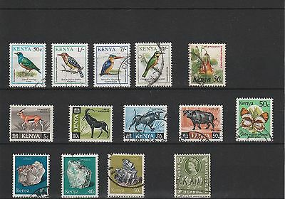 Kenya - Assortment Of Mint & Used Stamps