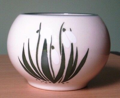 Holkham Pottery Snowdrop Small Bowl