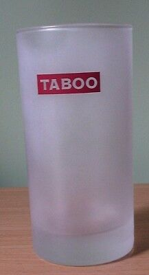 Taboo Frosted Highball Glass - New