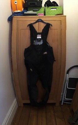 Musto Performance MPX Gore-Tex yachting sailing waterproof Salopettes size large