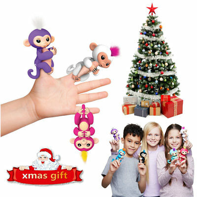 2017 WowWee Fingerling Interactive Electronic Motion Monkey Finger Pet Toy