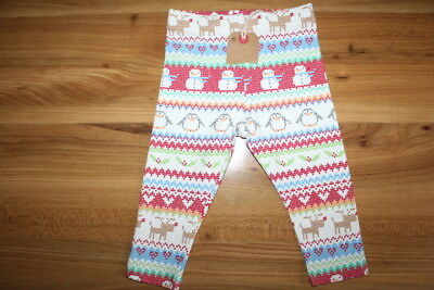 NEXT girls Christmas leggings 12-18 months NEW *I'll combine postage*