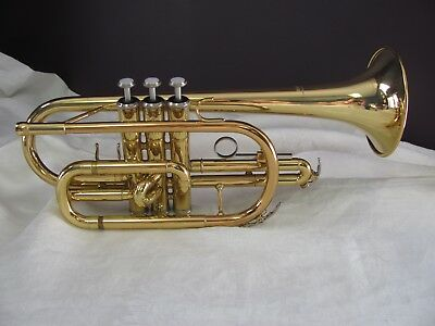 Yamaha YCR2310 Cornet Clean/Properly Lubricated 7C Mpiece & Case EXCELLENT JAPAN